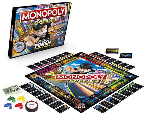 Fast-Action Board Games