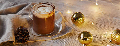 Glittering Hot Chocolates