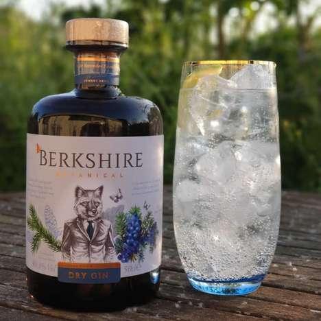 Spruce-Flavored Gin Spirits