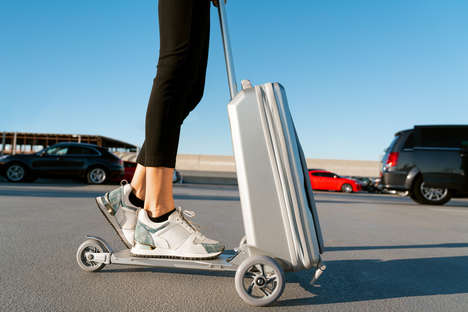 Hybrid Scooter Suitcases