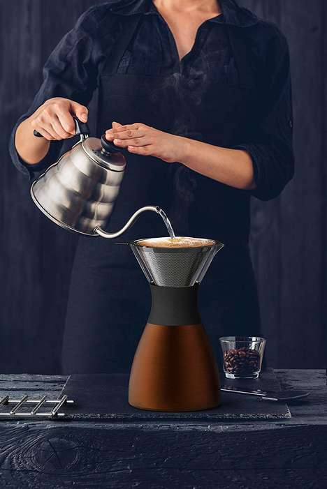 Stylish Portable Java Brewers
