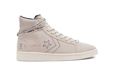 Inside-Out Leather Sneakers