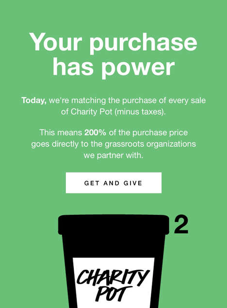 Charitable Cosmetic Initiatives