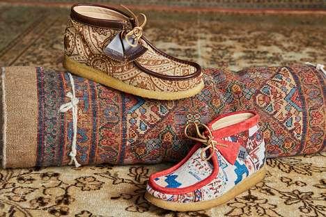 Aztec-Inspired Multitonal Boots