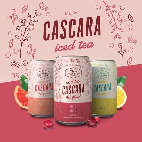 Energizing Cascara Iced Teas