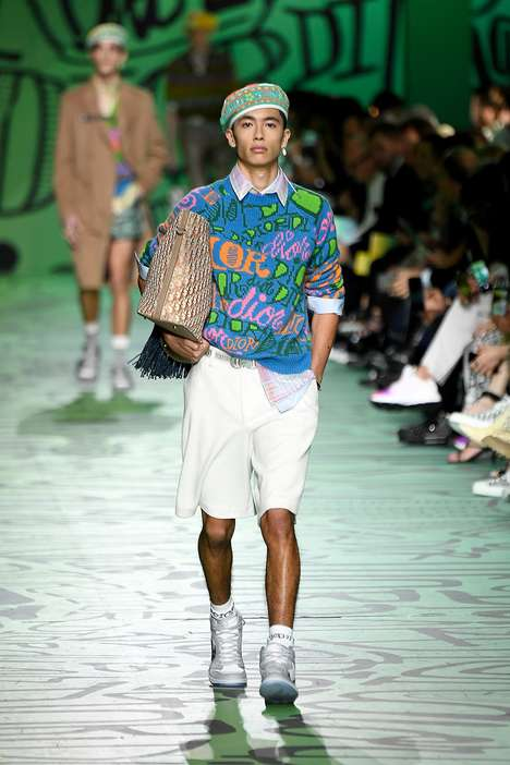 Artistic Menswear Runway Collaborations