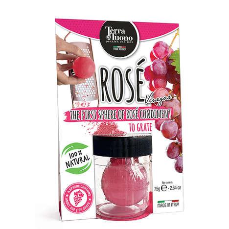 Grateable Rosé Condiments