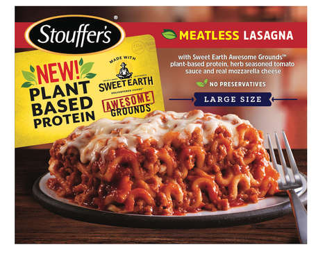 Frozen Meatless Lasagnas
