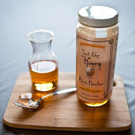 Rice-Based Vegan Honey