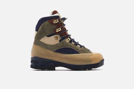 Premium Suede Hiking Boots