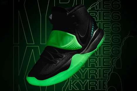 Glowing Basketball Sneakers