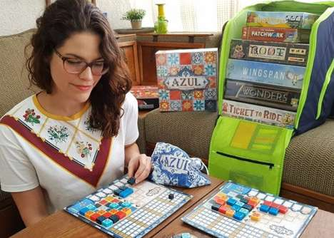 Board Game-Organizing Backpacks