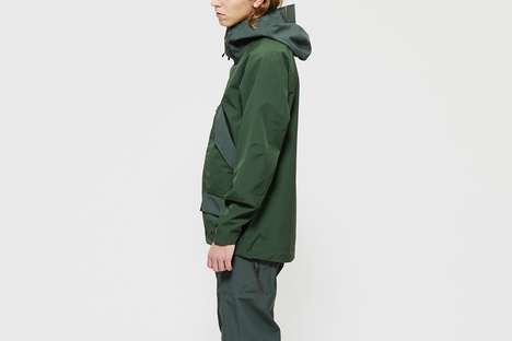 Japanese Utilitarianism-Themed Outerwear