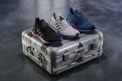 Space Station-Themed Shoes