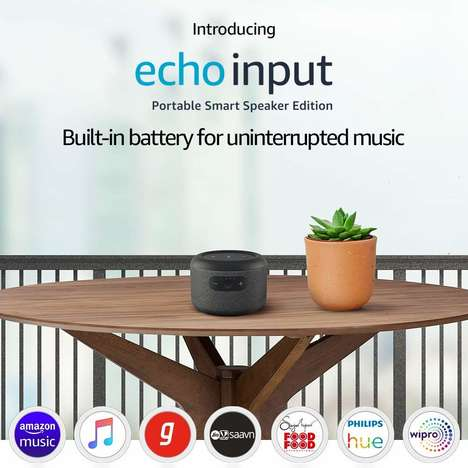 Battery-Powered Smart Speakers