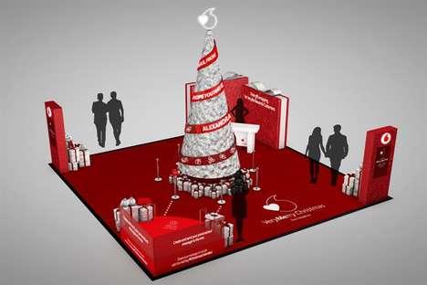Loyalty Platform-Promoting Christmas Trees