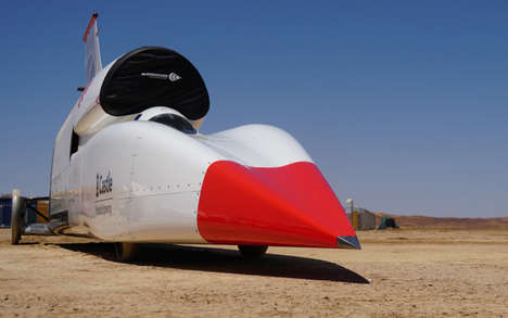 Supersonic Car Speed Tests