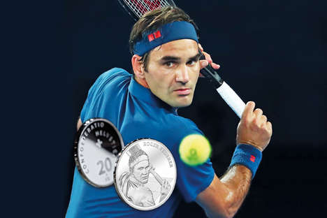 Tennis Player-Themed Silver Coins