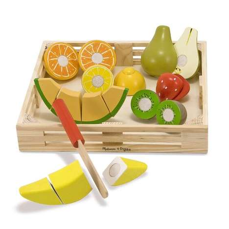 Wooden Fruit-Cutting Sets