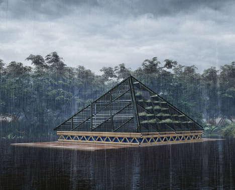 Protective Pyramidal Dwellings