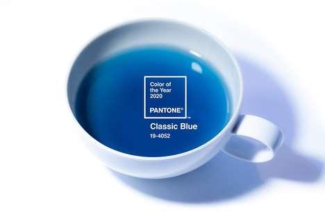 Branded Color Blue Teas