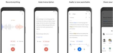 Accessible Transcription Apps