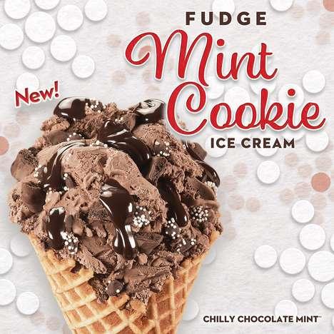 Festive Fudge Ice Creams