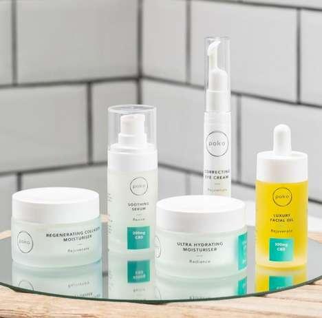 Radiance-Boosting CBD Skincare