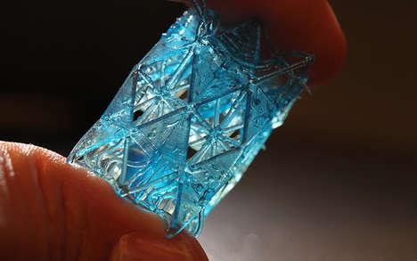 Bone-Like 3D-Printed Building Materials