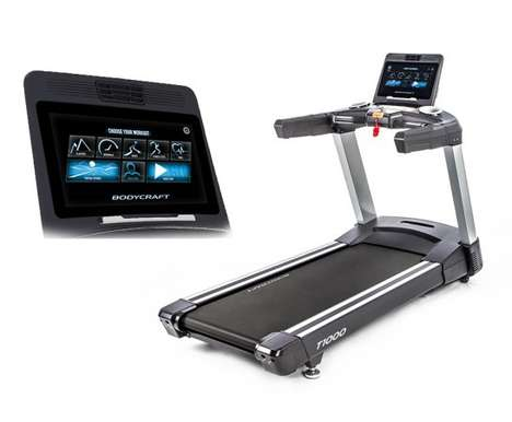Touchscreen Console Treadmills