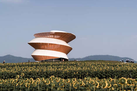 Spiraling Observation Towers