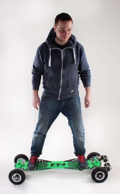 Speedy Off-Road Electric Skateboards