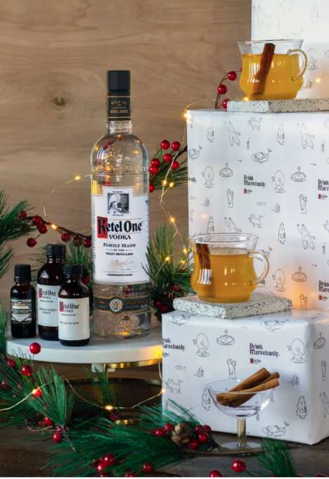 Winter-Inspired Cocktail Kits