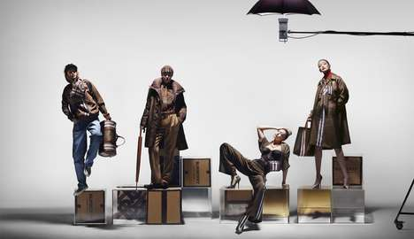 High-Fashion Social Media Campaigns