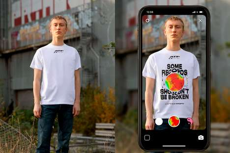 Ever-Changing AR T-Shirts