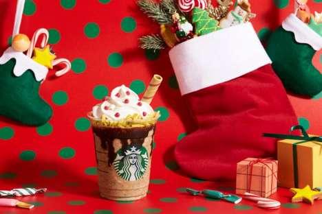 Christmas Stocking-Inspired Drinks