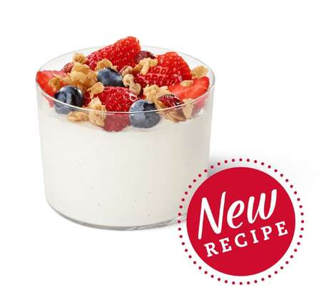 Organic Yogurt Parfaits