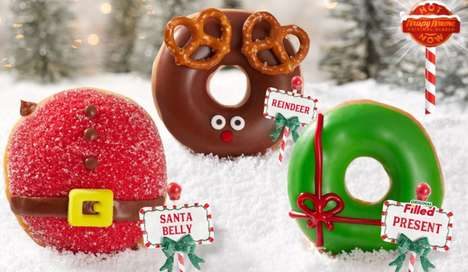North Pole-Inspired Donuts