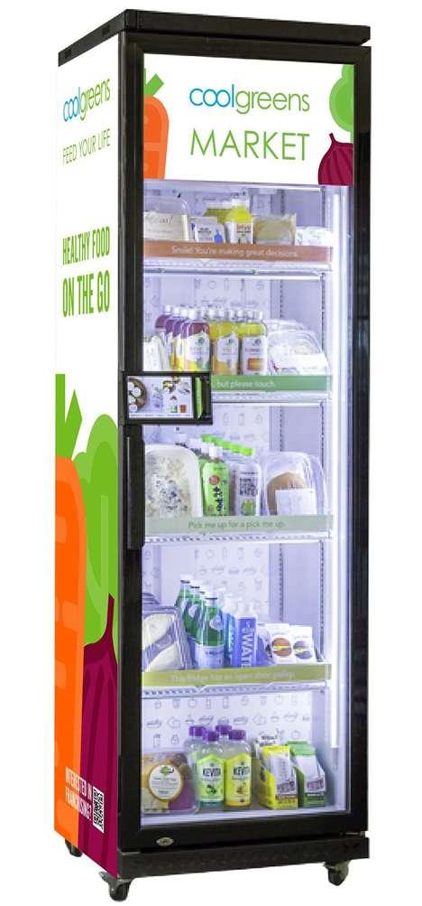 Smart Healthy Food Fridges