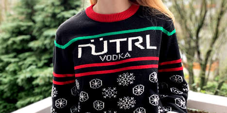 Charitable Vodka Holiday Sweaters