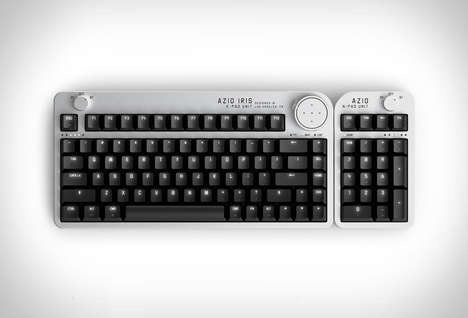 Camera-Inspired PC Keyboards