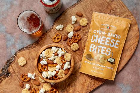 Truffle-Flavored Cheese Bites