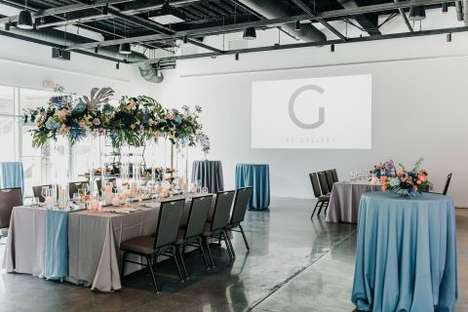Modern Customizable Event Spaces