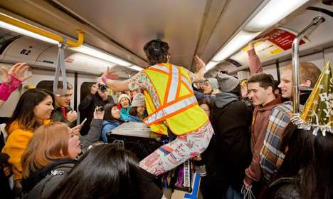 All-Night Train Dance Parties