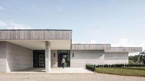 Contemporary Quarry Stone Houses