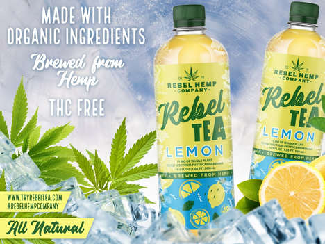 Brewed Hemp Beverages