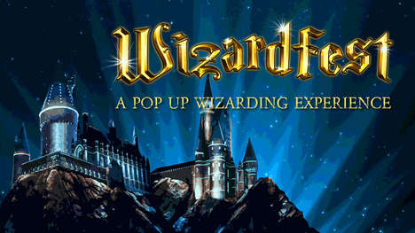 Wizard-Themed Pop-Up Parties