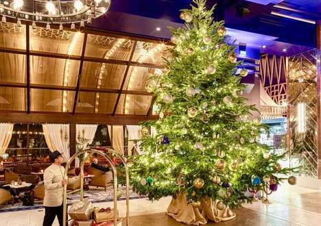 Opulently Accented Christmas Trees