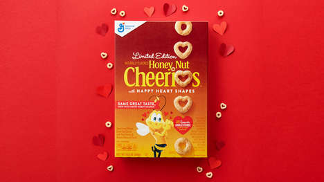 Limited-Edition Heart-Shaped Cereals