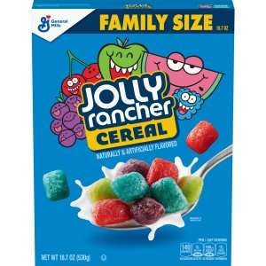 Fruity Candy-Flavored Cereals